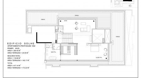 Penthouse 1002 - PLANO SEGUNDO NIVEL