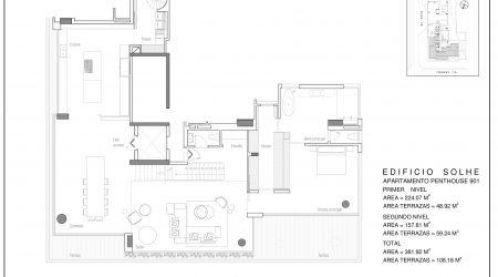 Penthouse 901-PLANO PRIMER NIVEL