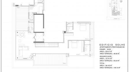 Penthouse 901- PLANO SEGUNDO NIVEL
