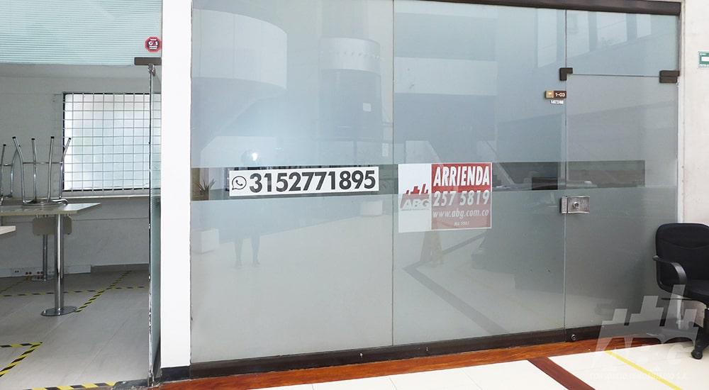 Oficina en arriendo, en El Chicó