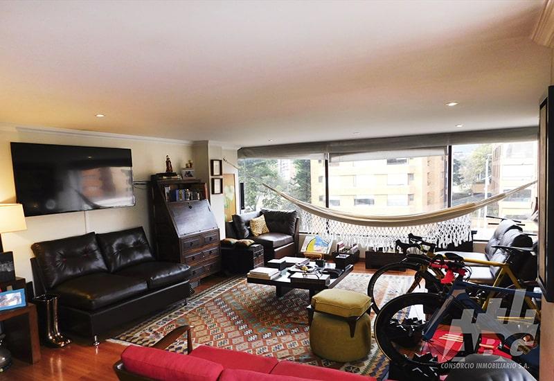 Apartamento en venta, en Chicó
